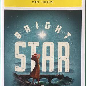 Playbill Bright Star  Carmen Cusac   A.J. Shively